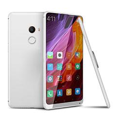 Silikon Hülle Handyhülle Ultra Dünn Schutzhülle Tasche S02 für Xiaomi Mi Mix 2 Weiß