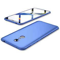 Silikon Hülle Handyhülle Ultra Dünn Schutzhülle Tasche S02 für Xiaomi Redmi 5 Plus Blau