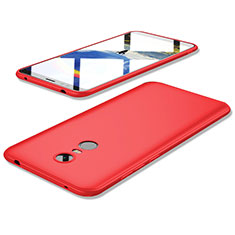 Silikon Hülle Handyhülle Ultra Dünn Schutzhülle Tasche S02 für Xiaomi Redmi 5 Plus Rot