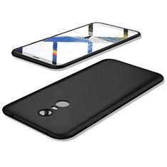 Silikon Hülle Handyhülle Ultra Dünn Schutzhülle Tasche S02 für Xiaomi Redmi 5 Plus Schwarz
