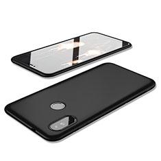 Silikon Hülle Handyhülle Ultra Dünn Schutzhülle Tasche S02 für Xiaomi Redmi 6 Pro Schwarz