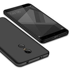 Silikon Hülle Handyhülle Ultra Dünn Schutzhülle Tasche S02 für Xiaomi Redmi Note 4 Standard Edition Schwarz