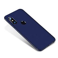 Silikon Hülle Handyhülle Ultra Dünn Schutzhülle Tasche S02 für Xiaomi Redmi Note 5 Blau
