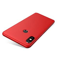Silikon Hülle Handyhülle Ultra Dünn Schutzhülle Tasche S03 für Xiaomi Redmi Note 5 AI Dual Camera Rot