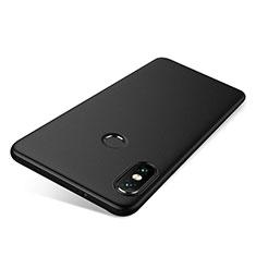 Silikon Hülle Handyhülle Ultra Dünn Schutzhülle Tasche S03 für Xiaomi Redmi Note 5 AI Dual Camera Schwarz