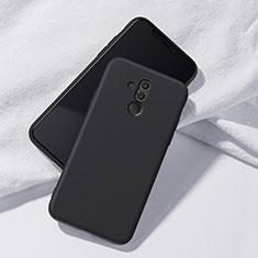 Silikon Hülle Handyhülle Ultra Dünn Schutzhülle Tasche S04 für Huawei Mate 20 Lite Schwarz
