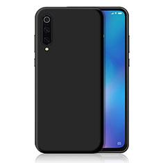 Silikon Hülle Handyhülle Ultra Dünn Schutzhülle Tasche S04 für Xiaomi Mi 9 Lite Schwarz