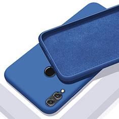Silikon Hülle Handyhülle Ultra Dünn Schutzhülle Tasche S05 für Huawei Honor 10 Lite Blau