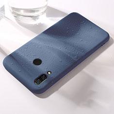 Silikon Hülle Handyhülle Ultra Dünn Schutzhülle Tasche S05 für Huawei Honor 8X Blau