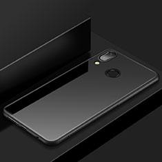 Silikon Hülle Handyhülle Ultra Dünn Schutzhülle Tasche S05 für Huawei P20 Lite Schwarz