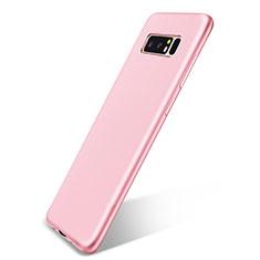 Silikon Hülle Handyhülle Ultra Dünn Schutzhülle Tasche S05 für Samsung Galaxy Note 8 Rosa