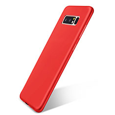 Silikon Hülle Handyhülle Ultra Dünn Schutzhülle Tasche S05 für Samsung Galaxy Note 8 Rot