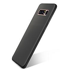 Silikon Hülle Handyhülle Ultra Dünn Schutzhülle Tasche S05 für Samsung Galaxy Note 8 Schwarz