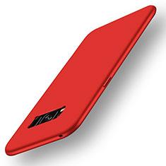 Silikon Hülle Handyhülle Ultra Dünn Schutzhülle Tasche S05 für Samsung Galaxy S8 Plus Rot