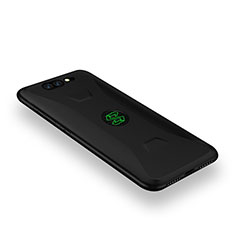 Silikon Hülle Handyhülle Ultra Dünn Schutzhülle Tasche S05 für Xiaomi Black Shark Schwarz