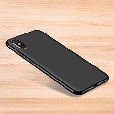 Silikon Hülle Handyhülle Ultra Dünn Schutzhülle Tasche S06 für Xiaomi Mi 8 Explorer Schwarz