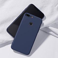 Silikon Hülle Handyhülle Ultra Dünn Schutzhülle Tasche S07 für Huawei Honor 9 Lite Blau