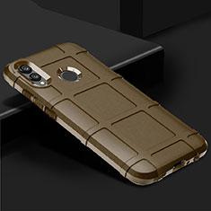 Silikon Hülle Handyhülle Ultra Dünn Schutzhülle Tasche Vorder und Rückseite 360 Grad für Huawei P Smart (2019) Gold