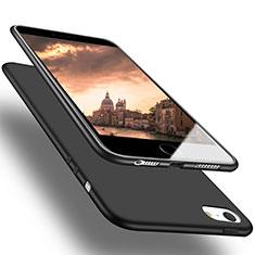 Silikon Hülle Handyhülle Ultra Dünn Schutzhülle U03 für Apple iPhone SE Schwarz