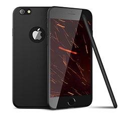 Silikon Hülle Handyhülle Ultra Dünn Schutzhülle U15 für Apple iPhone 6 Schwarz
