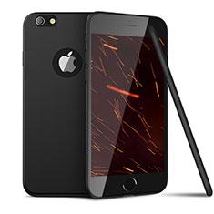 Silikon Hülle Handyhülle Ultra Dünn Schutzhülle U15 für Apple iPhone 6S Schwarz