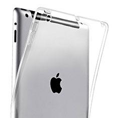 Silikon Hülle Handyhülle Ultradünn Tasche Durchsichtig Transparent für Apple iPad 3 Klar