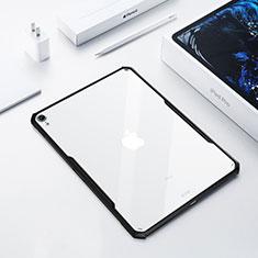 Silikon Hülle Handyhülle Ultradünn Tasche Durchsichtig Transparent für Apple iPad Pro 12.9 (2018) Schwarz