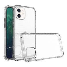 Silikon Hülle Handyhülle Ultradünn Tasche Durchsichtig Transparent für Apple iPhone 12 Klar