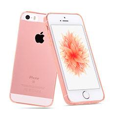 Silikon Hülle Handyhülle Ultradünn Tasche Durchsichtig Transparent für Apple iPhone SE Klar