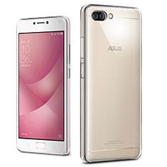Silikon Hülle Handyhülle Ultradünn Tasche Durchsichtig Transparent für Asus Zenfone 4 Max ZC554KL Klar