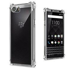Silikon Hülle Handyhülle Ultradünn Tasche Durchsichtig Transparent für Blackberry KEYone Klar