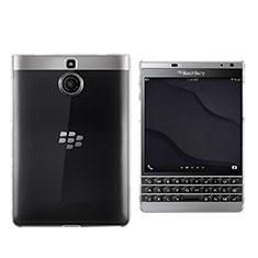 Silikon Hülle Handyhülle Ultradünn Tasche Durchsichtig Transparent für Blackberry Passport Silver Edition Klar