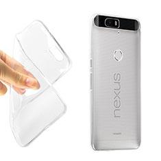 Silikon Hülle Handyhülle Ultradünn Tasche Durchsichtig Transparent für Google Nexus 6P Klar