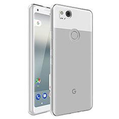 Silikon Hülle Handyhülle Ultradünn Tasche Durchsichtig Transparent für Google Pixel 2 Klar