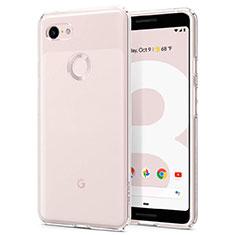 Silikon Hülle Handyhülle Ultradünn Tasche Durchsichtig Transparent für Google Pixel 3 Klar
