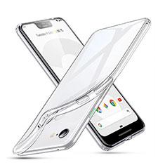 Silikon Hülle Handyhülle Ultradünn Tasche Durchsichtig Transparent für Google Pixel 3 XL Klar