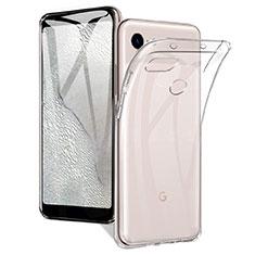 Silikon Hülle Handyhülle Ultradünn Tasche Durchsichtig Transparent für Google Pixel 3a Klar