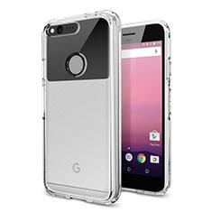 Silikon Hülle Handyhülle Ultradünn Tasche Durchsichtig Transparent für Google Pixel XL Klar
