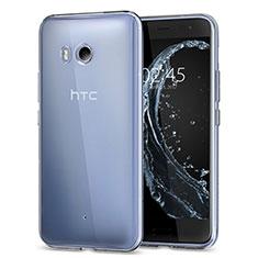 Silikon Hülle Handyhülle Ultradünn Tasche Durchsichtig Transparent für HTC U11 Klar
