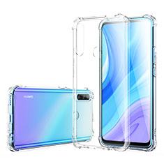 Silikon Hülle Handyhülle Ultradünn Tasche Durchsichtig Transparent für Huawei Enjoy 10 Plus Klar