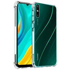 Silikon Hülle Handyhülle Ultradünn Tasche Durchsichtig Transparent für Huawei Enjoy 10e Klar