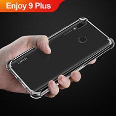Silikon Hülle Handyhülle Ultradünn Tasche Durchsichtig Transparent für Huawei Enjoy 9 Plus Klar
