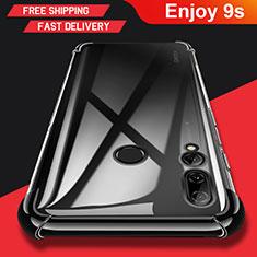 Silikon Hülle Handyhülle Ultradünn Tasche Durchsichtig Transparent für Huawei Enjoy 9s Klar