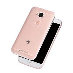 Silikon Hülle Handyhülle Ultradünn Tasche Durchsichtig Transparent für Huawei G7 Plus Klar