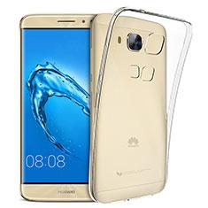 Silikon Hülle Handyhülle Ultradünn Tasche Durchsichtig Transparent für Huawei G9 Plus Klar