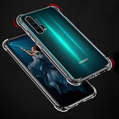 Silikon Hülle Handyhülle Ultradünn Tasche Durchsichtig Transparent für Huawei Honor 20 Pro Klar