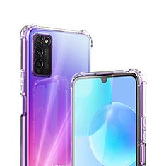 Silikon Hülle Handyhülle Ultradünn Tasche Durchsichtig Transparent für Huawei Honor 30 Lite 5G Klar