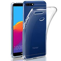 Silikon Hülle Handyhülle Ultradünn Tasche Durchsichtig Transparent für Huawei Honor 7A Klar