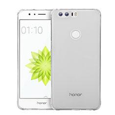 Silikon Hülle Handyhülle Ultradünn Tasche Durchsichtig Transparent für Huawei Honor 8 Klar