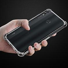 Silikon Hülle Handyhülle Ultradünn Tasche Durchsichtig Transparent für Huawei Honor 8X Max Klar